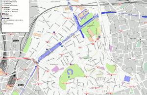 XIX Distrito de París
