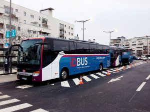 Bus de Ouibus en París