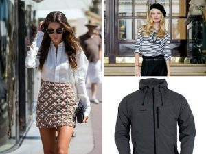 Vestimenta para verano y chaqueta cortaviento