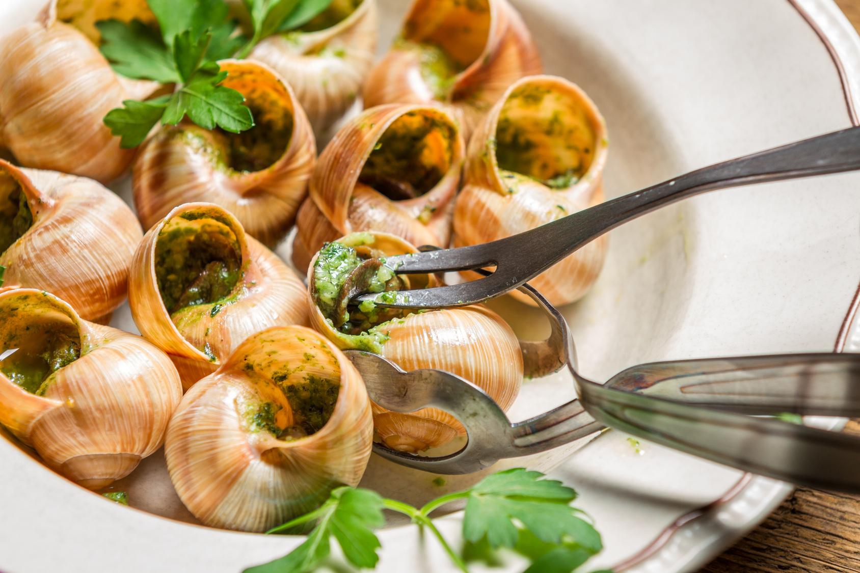 Gastronom a de par s viajar a francia - Cuisiner les escargots de bourgogne ...