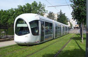 Tranvía en Lyon