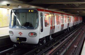 Metro en Lyon