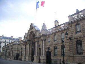 Palacio del Elíseo, residencia del Presidente de la República