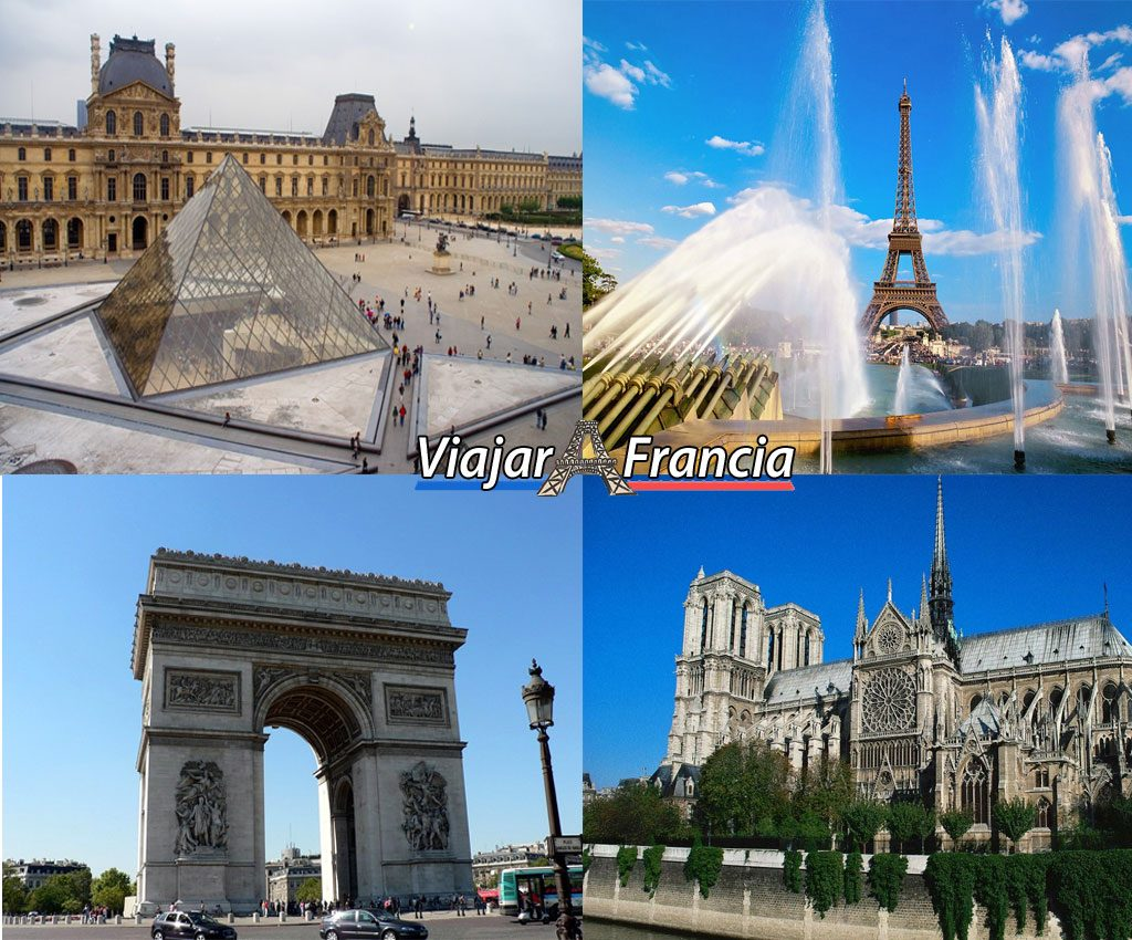 Sitios turísticos en Francia - Viajar a Francia