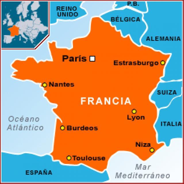 Mapa Turistico De Francia.Viajar A Francia Guia Del Turismo En Francia