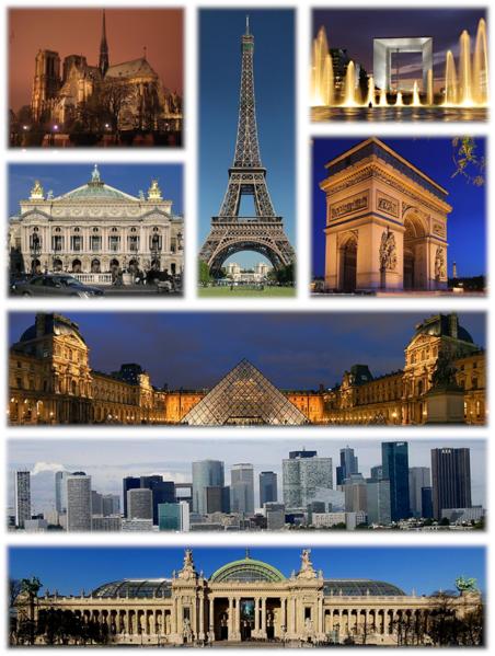 Principales sitios turísticos de Francia