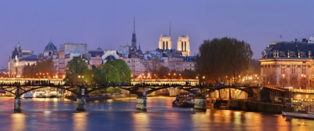 Atardecer de Paris