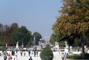 Tuileries gardenview