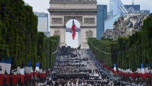 Celebraciones por el Día de la Bastilla.